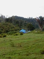 Camping at the Marolakana River crossing